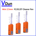 Free shipping!! 5pcs/Lot  Mini 2.5mm  FC/SC/ST  Fiber Optic Cleaner Pen Ftth tools Connector Clean,VD-CPBM