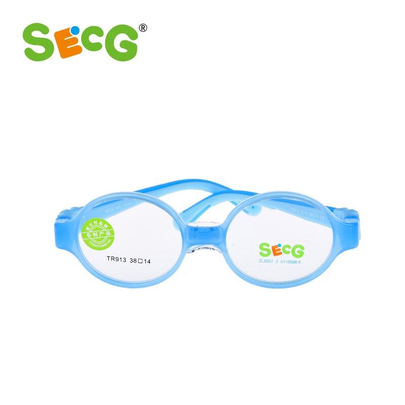 SECG Baby Kleinkind Nettes Runde Kinder Optische Gläser Rahmen ...
