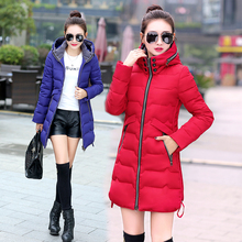 2016 Winter Female Jacket Cotton L-7xl Code Winter Jacket Women Down Coat Winter Coat Woman Winter Jackets