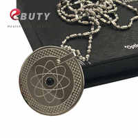 New Earth Design Quantum Scalar Energy Pendants with Far Infrared/ Negative Ion /Germanium Stones Free Drop Shipping
