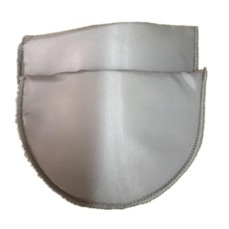 1 пара Высококачественная губчатая Наплечная подкладка для женщин блейзер футболка ветровка одежда аксессуары около 16*10*1 см - Цвет: khaki