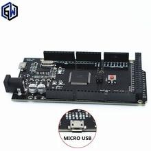 1pcs TENSTAR ROBOT Mega 2560 R3 for arduino CH340G/ATmega2560-16AU MicroUSB. With Bootloader