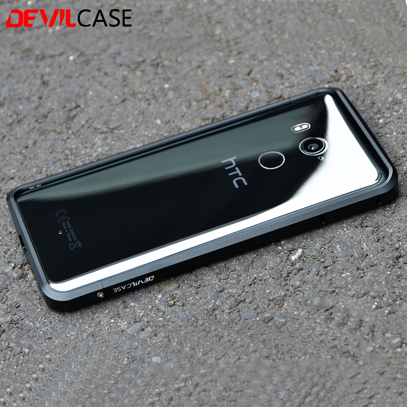 best website 0b693 5b2c1 US $42.75 |DEVILCASE For HTC U11+ Metal Bumper Frame Ultra Thin Protective  Cases CNC Cutout For HTC U11 Plus 6inch-in Phone Bumpers from Cellphones &  ...