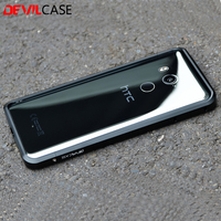 DEVILCASE For HTC U11 Metal Bumper Frame Ultra Thin Protective Cases CNC Cutout For HTC