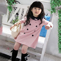 Girls Kids Dress Long Sleeve 2-7 Y Baby Casual Dresses  Lovely Clothes