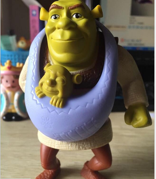 1Pcs15Cm Shrek Action Figures Toys Soft Stuffed Dolls -1797