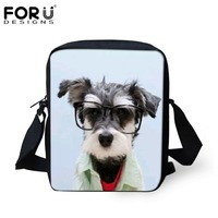 FORUDESIGNS Cute Pet Dog Printing Small School Bags For Baby Girls Boys Casual Children Kids Mini