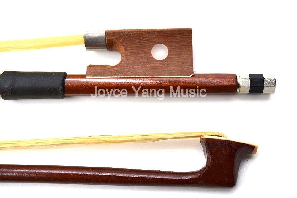 Универсальный Скрипки лук Бразилия дерево мармелад лягушка Arbor конский волос 1/8 1/4 1/2 3/4 4/4 Бесплатная доставка ...