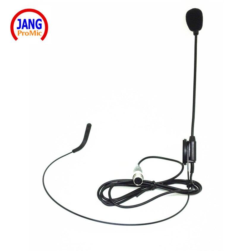 Profesyonel Kablolu Kulaklık Mikrofon Öğretmen Kondenser - Taşınabilir Ses ve Görüntü - Fotoğraf 2