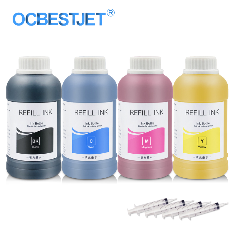 Image 2 - 4 x 250ml Universal Sublimation Ink For Epson Printers Heat Transfer Ink Heat Press Sublimation Ink Used For Mug Cup/T Shirt-in Ink Refill Kits from Computer & Office