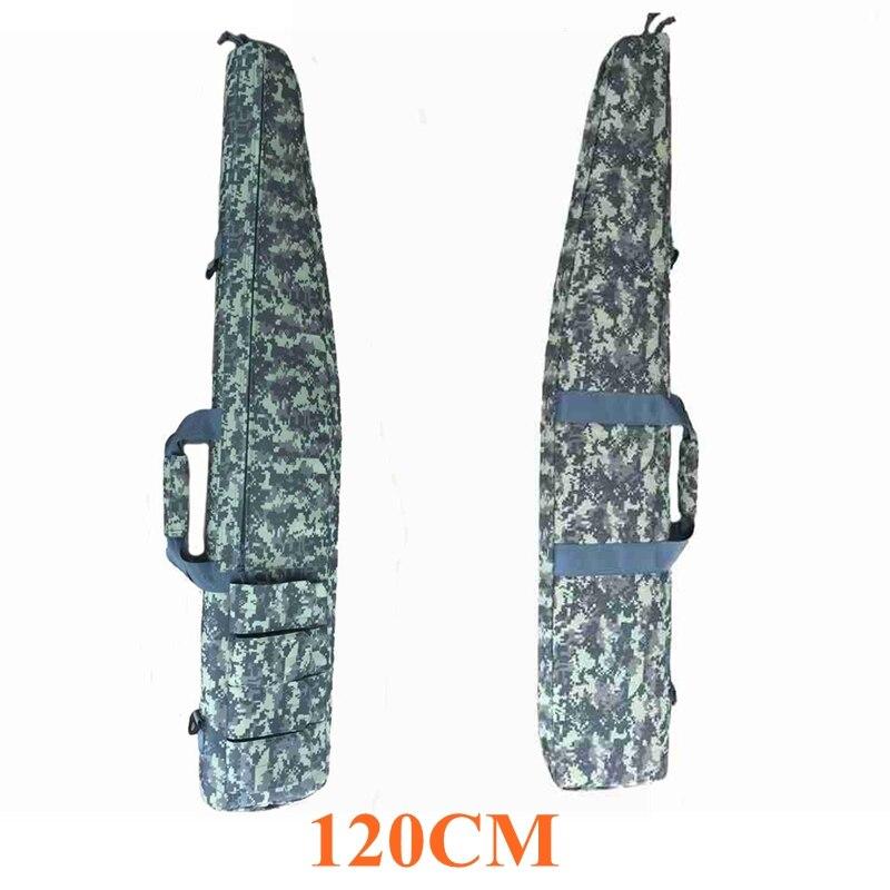 ACU 120 CM Tactical Rifle Bolsa de Nylon Hombro Bolsa Pistola Rifle W/Revistas M