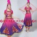 Мусульманские этап платье современный танец костюм уйгурский одежда производительность