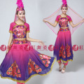 Uygur musulmana vestido de la etapa traje de la danza moderna desgaste del funcionamiento