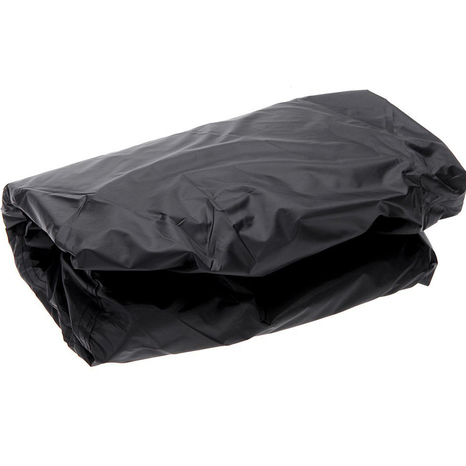 HGHO-BBQ Garden Patio waterproof protective tarpaulin covers anti-dust anti-solar gas Barbecue Grill Protector (Black)