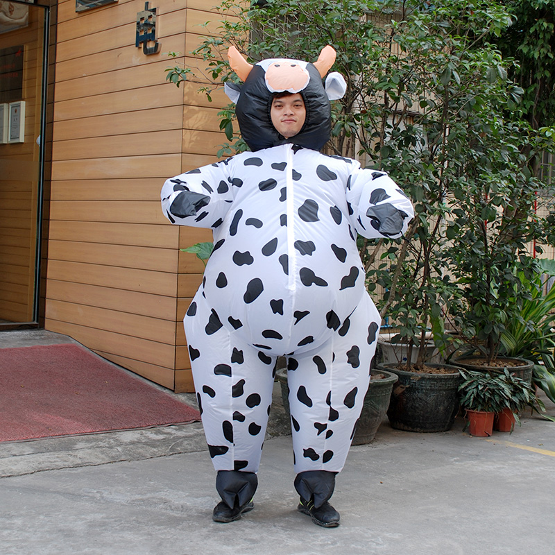 Christmas Halloween Inflatable Cow Costume for Men Women Adult Unisex Fancy Dress Air Suit Milk Cattle Carnival Party on Aliexpress.com | Alibaba Group & Christmas Halloween Inflatable Cow Costume for Men Women Adult ...