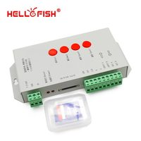 High Quality T 1000S 256M SD Card Led Pixel Controlle 5050RGB Led Strip Controlle Support IC