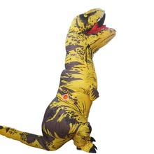 Purim t rex Costume Adults Jurassic World Park Blowup Halloween Inflatable Dinosaur Party For Adult