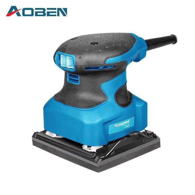 Aoben Sander Sandpaper Flat Wood Paint Furniture Polishing Machine Grinding Woodworking Tools Sanding