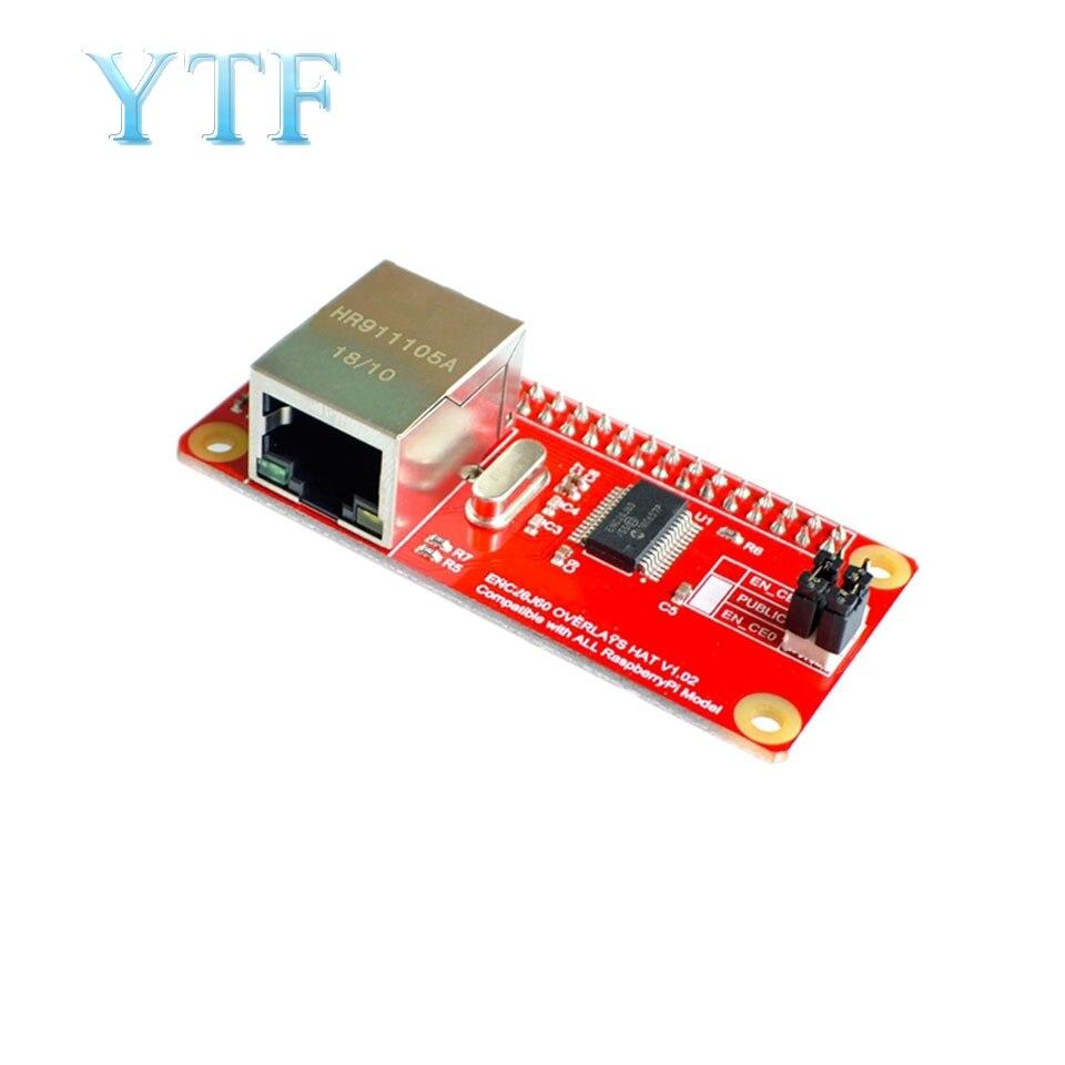 Raspberry Pi ZERO ENC28J60 Network Adapter Module PI0 PIW Compatible