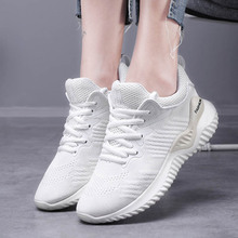 VTOTA Sneakers Women Mesh Lace Up Platform White Chunky Basket Female New Casual Walking Shoes Wedges For