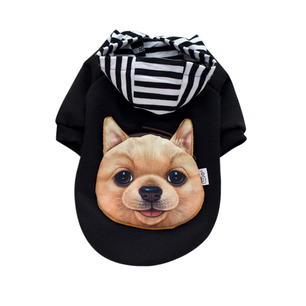 Small Dogs Costume Clothes For Little Dogs Overalls Fashion Pet Clothes Autumn Winter Sweater Jacket Lovely Clothing Costume