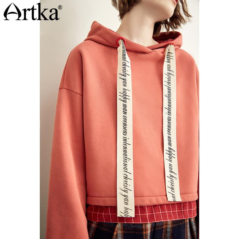 Artka Casual Letter Printed Sweatshirt VA10689Q