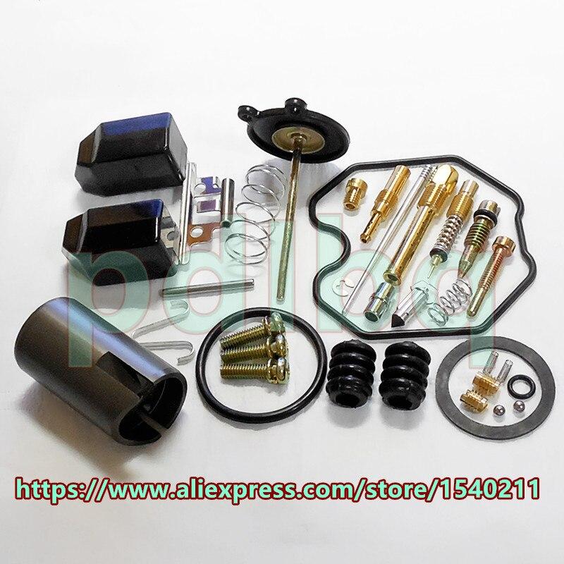 (Komplett konfiguráció) Keihin gyorsító szivattyú karburátor PZ26B / 27B / 30B javító készlet CG125 / 150/250 motorkerékpár javító készlet