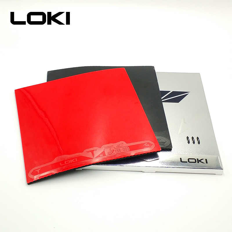 LOKI T3 ITTF Approved Carbo Sponge Table Tennis Rubber Pips-in Hard Non-sticky Speed Pingpong Rubber for Fast Attack