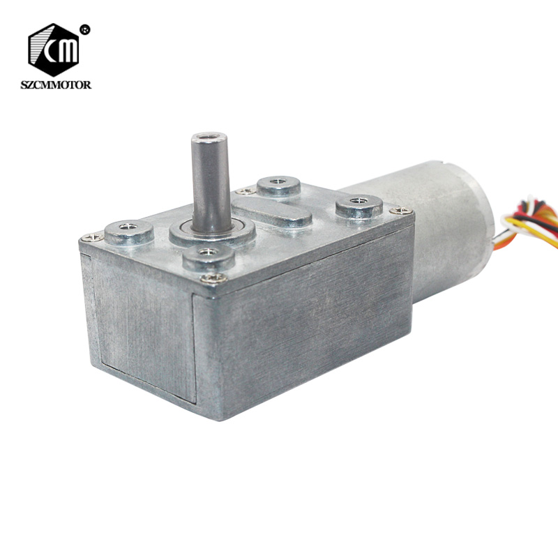 цена на JGY370-2430 silsent worm high torque low rpm 12v dc brushless gear motor geared reducer motor