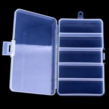 Buy HobbyLane 5  Slots Plastic Fishing Lure Hook Tackle Box Storage Case Portable Tackle Multifunctional Organizer Fishing Boxes Hot directly from merchant!