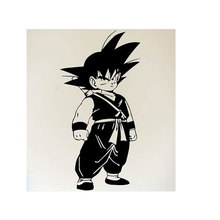 Japanese anime Dragon Ball Goku comic cartoon wall decal home children's room Anime fans decorative vinyl wall sticker LZ01 car sticker japanese cartoon fans seed gundam raiser vinyl wall stickers decal decor home decoration