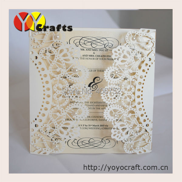 50sets newest customize laser cut lace wedding invitations card 50sets newest customize laser cut lace wedding invitations card designs chinese supplier printable handmade wedding cards in cards invitations from home stopboris Gallery
