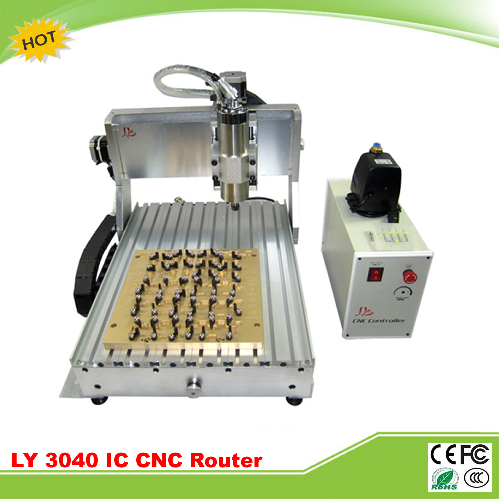 IC Router for iphone 4/5/6/6P/6S/6SP CNC 3040 1500w CNC milling polishing engraving machine for iPhone Main Board IC repair 6