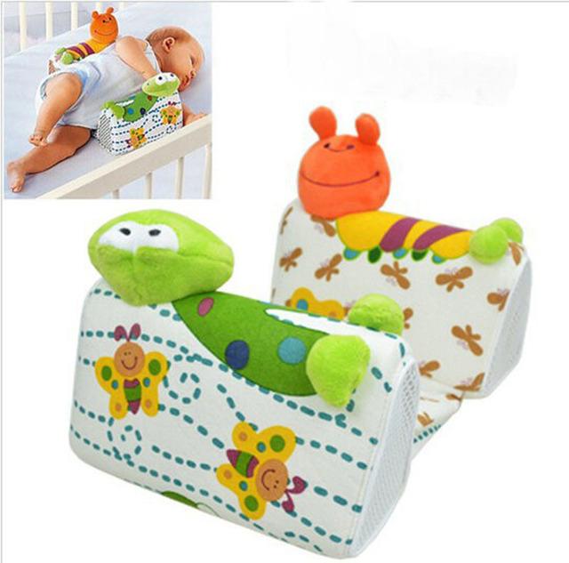 Bebê Anti - roll posicionador recém-nascido criança de sono lado ventilação final ,