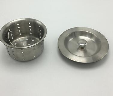 Kitchen Dish Washing Stainless Steel Sink Drain Basket With Cap In Drains  From Home Improvement On Aliexpress.com | Alibaba Group
