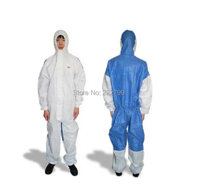 Produtos de qualidade 3m4535 branco encapuzados conjugada clothing protetora química pintura sputtering espanadores de ventilação traseira
