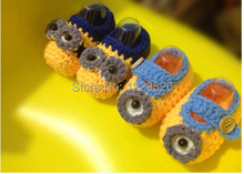 Fashion Crochet baby first walk shoes loafers 0-12M 10pairs/lot 100% cotton custom