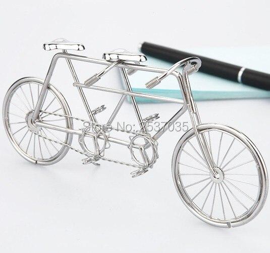 J1 TANDEM BIKE / BICYCLE SCICPTURE / DECORATION حار بيع الفولاذ المقاوم للصدأ الفن اليدوي الحرف اليدوية حفلات الزفاف وعيد الميلاد والمنازل والمكتب والهدايا