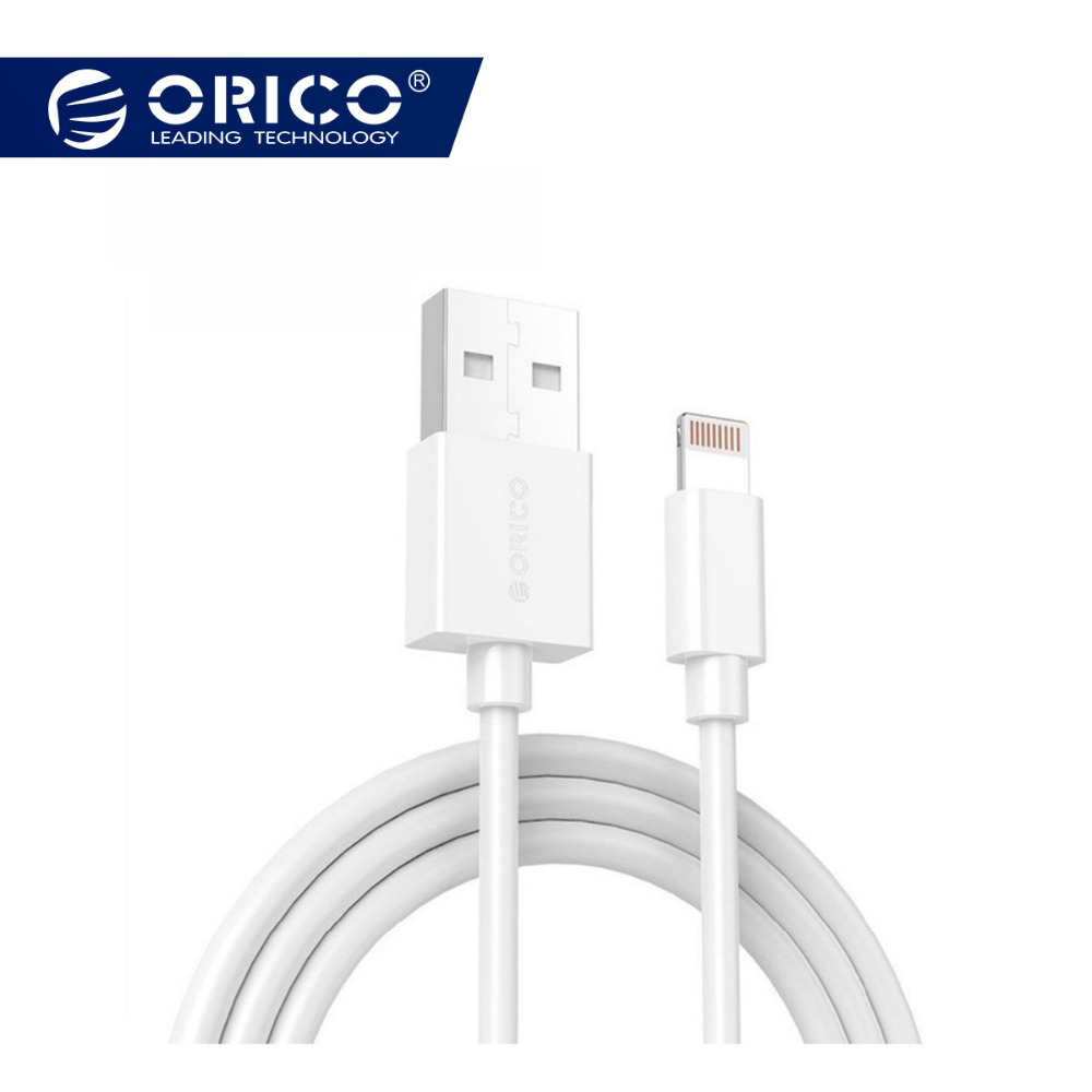 ORICO Premium Cable Lighting to USB Cables for iPhone XS Max 8 Plus 7 6 6S 5 5S Mobile