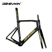 OG-EVKIN CF-017 Road Bike Frame Carbon Bicycle Frame UD Glossy BB386 48/50/52/54cm Di2&Mechanical Carbon Frame Racing Carbon цены