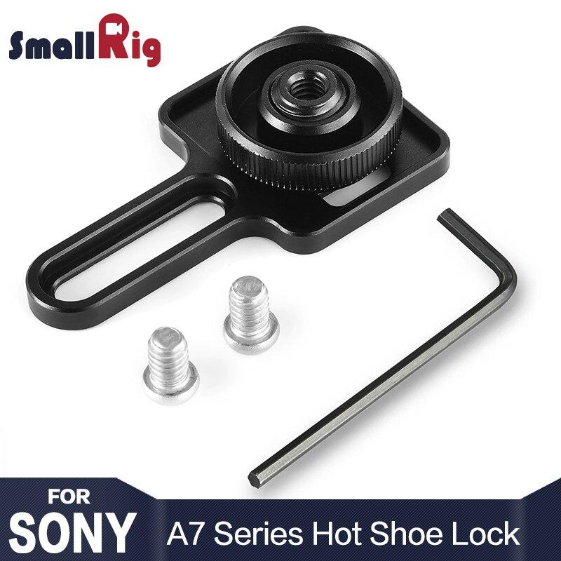 SmallRig DSLR Caméra Hot Shoe Serrure pour Sony A7RIII/A7III/A7II/A7RII/A7SII/A9 2241