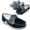 Caliente-venta 1 par classic shoes zapatillas de deporte respirables niños shoes, resistentes al desgaste del muchacho solo shoes