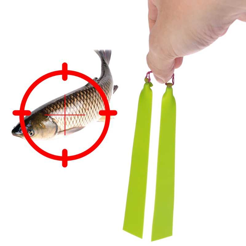 1 Pc Pesca Elastico Slingshot Tiro di Pesce All'aperto di Caccia In Lattice Piatto Tattico