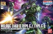 Bandai Gundam HG GTO 016 1/144 Zaku II tip C/tipi C 5 mobil takım elbise monte Model kitleri aksiyon figürleri anime hediye