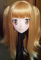 (C2 021)Full Head Anime Kigurumi Mask Cosplay Kigurumi Crossdresser Doll Halloween Fetish Cartoon Character Masks