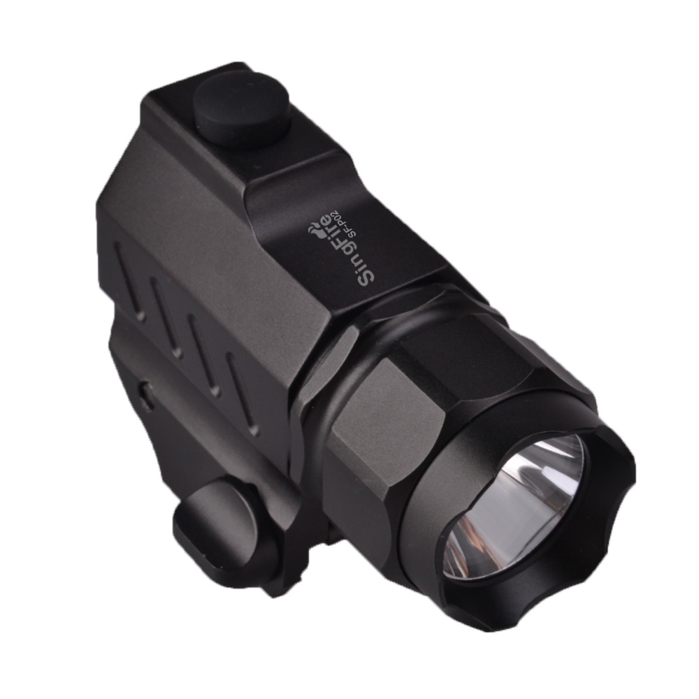 цена на SingFire SF-P02 CREE XP-G R5 350LM 2-Mode Tactical Pistol LED Flashlight (1*CR2 battery) Black