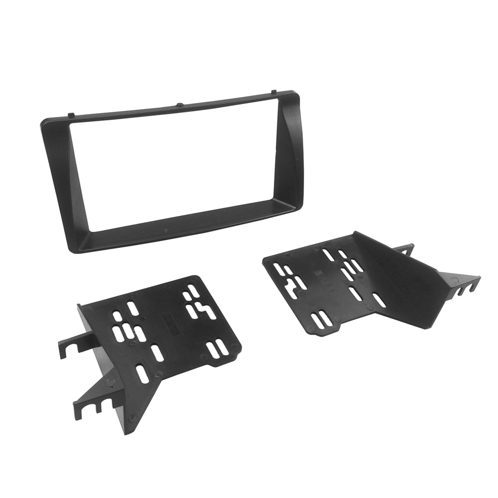 For toyota corolla radio cd stereo panel double din fascia dash mounting installation trim kit face