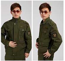 Military Enthusiasts Work Python Lines Camo Special Combat Uniform Suits Jacket+ Pants Men Clothes H4608