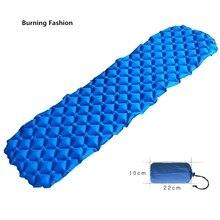 Burning Fashion Top Lander Mattress Inflatable for Tent Portable Ultralight Sleeping Pad Camping Mat