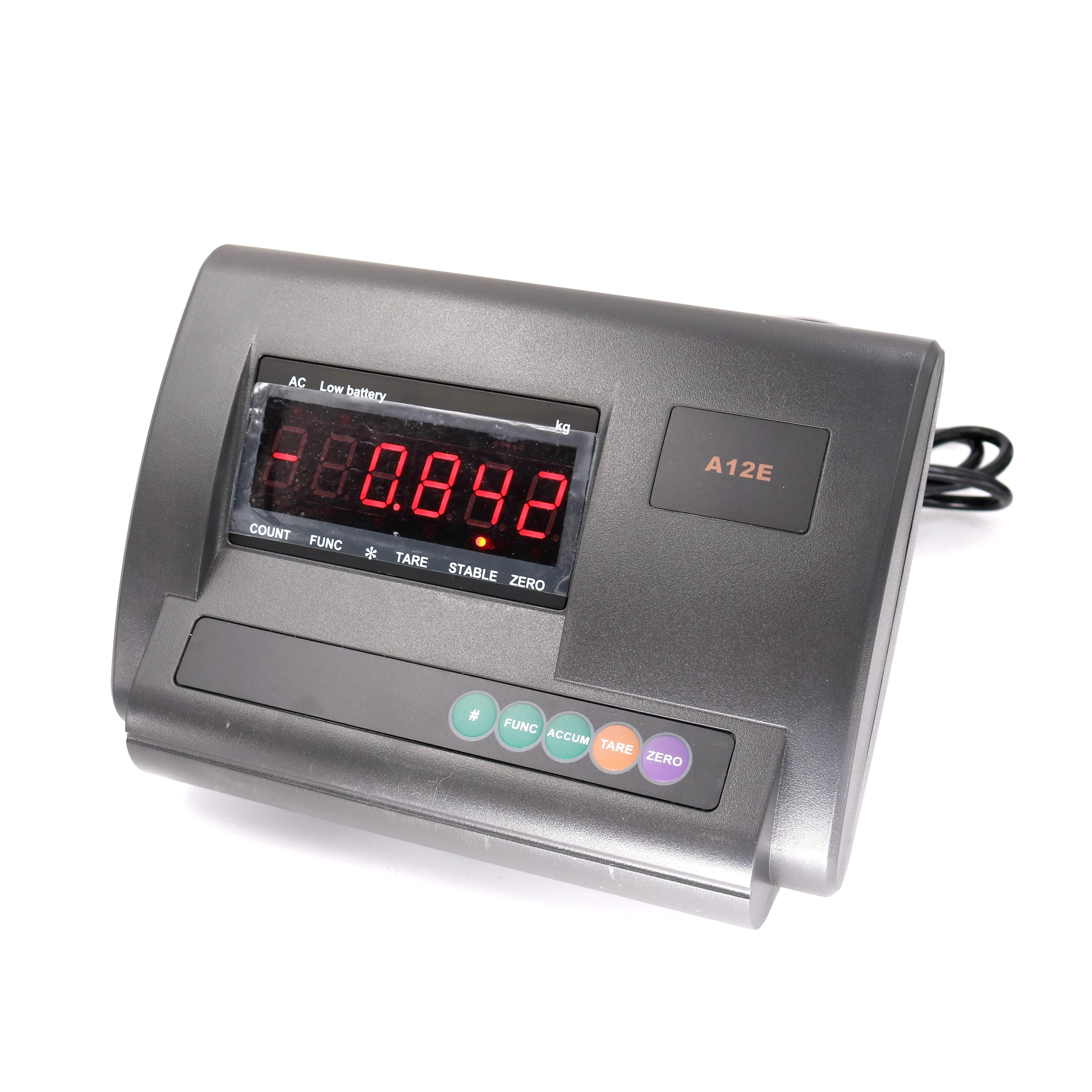XK3190-A12E Platform Scale English LED Display Panel Weight Indicatorload Meter Controller Loadometer Weight Meter Module
